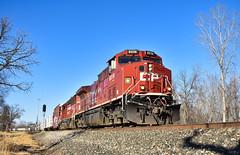 Knocking Down Midland (csx7661) Tags: train railroad railfan photography nikon explore inecplore inexplore flickr picture autumn winter minnesota cp canadianpacific cprail freight beaver mn wabasha