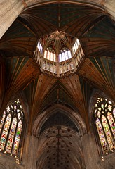 Ely Cathedral, Octagon Lantern (elena2525) Tags: octagonaltower churcharchitecture medievalarchitecture timberlantern octagonal lantern cathedral cambridgeshire england ily