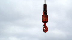 In the sky - taken by my granddaughter Perrine 11 years old (patrick_milan) Tags: ring metal red rouge