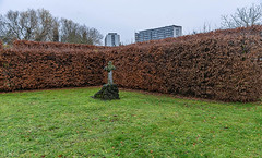 The last cross (jefvandenhoute) Tags: belgium belgië antwerpen fredegandus cross cemetery