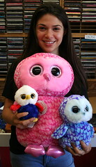 National Bird Day 2020 (emotiroi auranaut) Tags: nationalbirdday owls birds cute girl teen teenage teenager smiling pretty