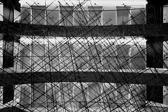 three floors behind (christikren) Tags: architecture abstract absoluteblackandwhite blackwhite blackandwhite christikren design lines linien linescurves monochrome modern mono noiretblanc photography perspective patterns sw travel floor lift light canonpowershotg5x architectureindoor composing hotel