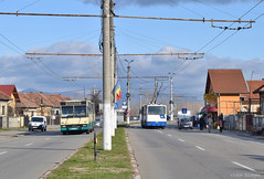 GJ 02 XJZ + 0109 - 27.12.2019 (VictorSZi) Tags: romania targujiu oltenia transport transloc trolleybus troleibuz dac nikon nikond5300 winter iarna december decembrie