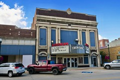 American 3 Theatre, Cherokee, IA (Robby Virus) Tags: cherokee iowa ia american theatre theater cinema movies facade architecture building marquee nrhp national register historic places