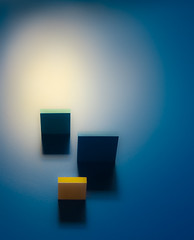 presence (Reflectory (Chris Brown)) Tags: abstract abstraction minimal minimalism nopeople vertical portrait blue white green yellow black rectangles lines shadows blocks reflectory