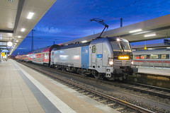 Railpool 193 805 Nürnberg Hbf (daveymills37886) Tags: railpool 193 805 nürnberg hbf baureihe siemens vectron db regio franken thüringen express
