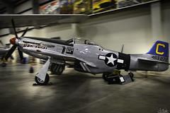 "North American P-51D Mustang ""Bad Angel"" in Pima Air & Space Museum - Tuscon - Arizona - USA (R.Smrekar) Tags: usa 2019 arizona museum airplane nikon aircraft indoor z7 smrekar 000500"