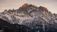 Monte civetta (104gian) Tags: dolomiti dolomiten sunset tramonto mountain montagna colors landscape paesaggio sky