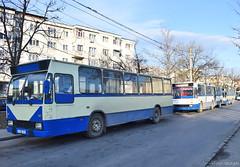 GJ 55 JIL + 0109 + 0117-  27.12.2019 (VictorSZi) Tags: romania targujiu oltenia transport transloc trolleybus troleibuz dac nikon nikond5300 winter iarna december decembrie