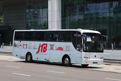 PZ644R, Raffles Boulevard, Singapore, October 11th 2018 (Southsea_Matt) Tags: pz644r rafflesboulevard singapore october 2018 autumn canon 80d sigma 1850mm bus omnibus transport vehicle mkiv mk4 liannex volvo b10m coach