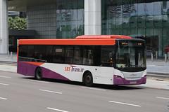 SBS8546R, Raffles Boulevard, Singapore, October 11th 2018 (Southsea_Matt) Tags: sbs8546r sbstransit rafflesboulevard singapore october 2018 autumn canon 80d sigma 1850mm bus omnibus transport vehicle scania k230ud gemilang