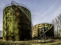 Gaz-Part (musette thierry) Tags: usine musette thierry d800 nikon urbex urbain explorationurbaine photographie