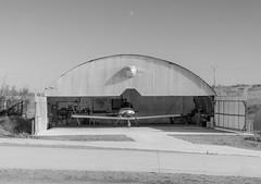 Home sweet home (Miguel Ángel Prieto Ciudad) Tags: photography outdoors architecture built structure industry day airplane hangar airport aviation aircraft bnw blackandwhite monochrome sonyalpha alpha3000