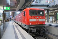 DB 112 185 Berlin Hbf (daveymills37886) Tags: db 112 185 berlin hbf baureihe