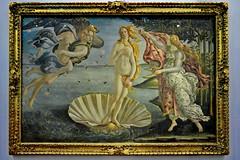 Botticelli's Birth of Venus (gerard eder) Tags: world travel reise viajes europa europe italy italia italien toscana toskana tuscany firenze florence florenz florencia museum museo uffizigalleries painting pintura gemälde botticelli birthofvenus galleriadegliuffizi uffiizi