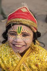 Varanasi (Rolandito.) Tags: asia asie asien india inde uttar pradesh varanasi benares ganges ganga river boy portrait