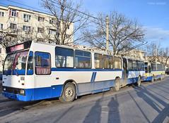 0109 + 0117 - 27.12.2019 (VictorSZi) Tags: romania targujiu oltenia transport transloc trolleybus troleibuz dac nikon nikond5300 winter iarna december decembrie
