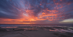 Christmas sunrise at Playa de Sotavento - Fuerteventura (stefanfricke) Tags: christmas sunrise ocean sky beach clouds sony ilce7rm2 sel1635z color