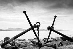 Saint Tropez coast (hbensliman.free.fr) Tags: travel france nature landscape outdoor outside sea coast black white pentax pentaxart europe mediterranean