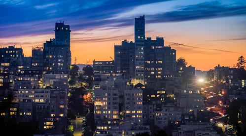 San Francisco Blue Hour View.