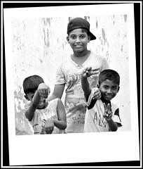 Yeah man....Jeunesse du Sri Lanka ici dans une petite rue Jaffna . (scoubidou13) Tags: portrait srilanka enfant blackandwhite absoluteblackandwhite bw