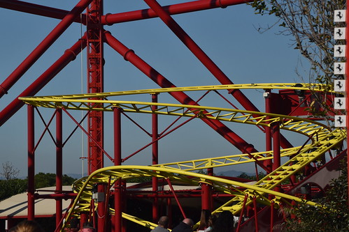 Roller Coasters in Spain: Junior Red Force, Ferrari Land