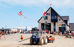 ON RHYL BEACH # 3 : THE LIFEBOAT STATION. (tommypatto : ~ IMAGINE.) Tags: northwales rhyl lifeboats rnli