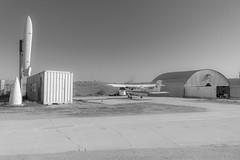 Aerodrome (Miguel Ángel Prieto Ciudad) Tags: photography outdoors day sky airport airfield aerodrome bnw aircraft aviation blackandwhite monochrome sonyalpha alpha3000