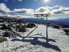 Kurumayama Shrine (peaceful-jp-scenery (busy)) Tags: kurumayama highland ski shrine 車山高原 スキー 神社 茅野 長野 日本 huaweimate20pro