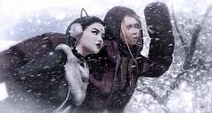 #AdamsPhotoChallenge--Snow Blind (eiloodoolittle) Tags: cocodesigns ysys adamlavell adamsphotochallenge blackdragon tableauvivant aviglam