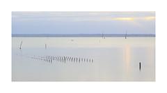 Et si on commençait l'année en douceur (Loïc Gouyette) Tags: long exposure water sea bretagne minimaliste minimalism cancale