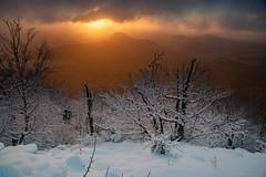 Ein fantastischer Morgen auf dem Kleis (matthias_oberlausitz) Tags: kleis klic svor sonnenaufgang sunset lausitzer gebirge lužické hory novi bor winter schnee tschechien