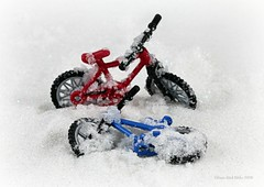 WINTER (Anne-Miek Bibbe) Tags: winter snow bike fiets crazytuesday canoneos70d annemiekbibbe bibbe nederland 2020 tabletopphotography speelgoed toy spielzeug giocattoli juguetes bringuedos jouets neige schnee neve happycrazytuesday