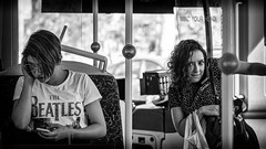 Multi-tasking (Chris (a.k.a. MoiVous)) Tags: streetphotography adelaidecbd streetlife commuters