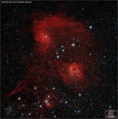 The Flaming Star and Tadpole Nebula (The Dark Side Observatory) Tags: tomwildoner night sky deepsky space outerspace skywatcher telescope 120ed celestron cgemdx asi290mc zwo astronomy astronomer science asi071mc deepspace weatherly pennsylvania observatory tdsobservatory earthskyscience ic405 ic410 flamingstarnebula tadpolenebula flaming tadpole m38 ngc1893 auriga astrometrydotnet:id=nova3858544 astrometrydotnet:status=solved