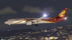 B207J 787-9 Hainan Airways (Anhedral) Tags: b207j boeing 787 7879 dreamliner chh hainanairlines landing night lax losangeles airliner jetliner