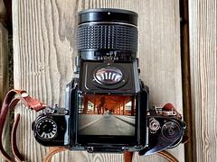 Miyajima (Bill Thoo) Tags: miyajima hiroshima japan temple camera filmcamera cameraporn nippon 日本 宮島町 waistlevelviewfinder mediumformat mediumformatfilmcamera travel pentax pentax6x7 takumar takumar554 vintagecamera iphone iphone11promax