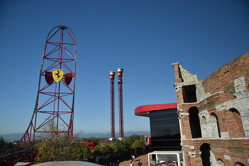Ferrari Land, PortAventura World, Spain