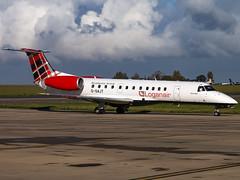Loganair | Embraer ERJ-135ER | G-SAJT (Bradley's Aviation Photography) Tags: egsh nwi norwich norwichairport aviation loganair embraererj135er gsajt e135 erj135
