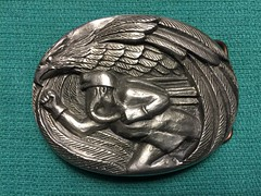 Mine Rescue Contest Belt Buckle (Coalminer5) Tags: buckle prazen coalmining coalminer coalmemorabilia coalcollectibles coal beltbuckle mining miningmemorabilia miningcollectible miningartifacts minerescue garyprazen priceut priceutah eagle smokeeater dragerman draegerman
