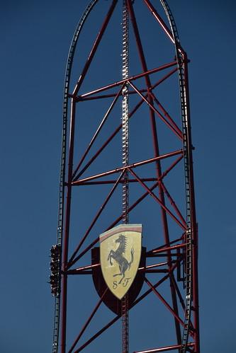 Spanish Roller Coasters: Red Force, Ferrari Land
