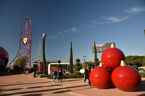 Europe's Only Ferrari Land Theme Park