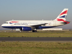 G-EUPW, Airbus A319-131, c/n 1440, BA-BAW-Speedbird-British Airways, CDG/LFPG 2013-12-11, on taxiway Bravo-Loop. (alaindurandpatrick) Tags: cn1440 geupw a319 a319100 a319131 airbus airbusa319 airbusa319100 airbusa319131 microbus jetliners airliners airlines ba baw britishairways speedbird airports cdg lfpg parisroissycdg aviationphotography taxishots
