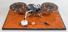 NASA Mars InSight Lander (cyndi.bourne) Tags: lego mars nasa insight