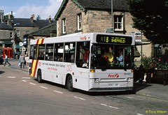 K927XRF First Potteries PMT IDC927 (theroumynante) Tags: k927xrf first potteries pmt idc927 dennis dart plaxton pointer bakewell derbyshire bus buses singledeck stepentrance road transport branded x18 routex18