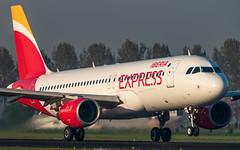 Iberia Express EC-MUK plb20-00810 (andreas_muhl) Tags: a320 ams amsterdam ecmuk eham iberiaexpress schiphol aircraft airplane aviation planespotter planespotting