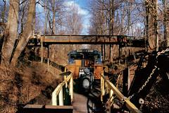 Worktrain South On The Creek (DJ Witty) Tags: railroad photography rr dieselelectriclocomotive csx csxt popescreeksubdivision pennsylvania sd70ace nikon f100 fujichromevelvia rvp100