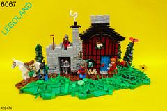 Guarded Inn - Part 1 (-Balbo-) Tags: lego classic castle moc set sets tlg bauwerk creation burg 6067 guarded inn ritter mittelalter medieval knight gasthaus burgen bausatz re do reinterpretation neuinterpretation