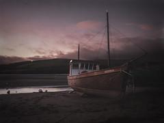 Aeron Belle (timnewby) Tags: fishing boat patch gwbert cardigan ceredigion teifi estuary olympus omd em10 mkii