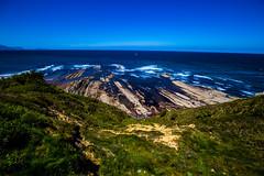 Baskenland0104Sopela (schulzharri) Tags: baskenland basque spanien spain espana bilbao reise travel strand beach meer ocean atlantik felsen rock water himmel wasser sky